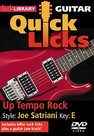 Lick-Library:-Quick-Licks-For-Guitar-Joe-Satriani-Up-Tempo-Rock-Key-Of-E-(DVD)