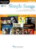 Simple Songs: Violin (Boek/Online Audio)_4