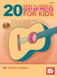 20 Easy Classical Guitar Pieces For Kids (Book/CD)_4