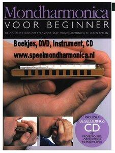 Mondharmonica Voor Beginners (Boeken/CD/DVD en Mondharmonica)