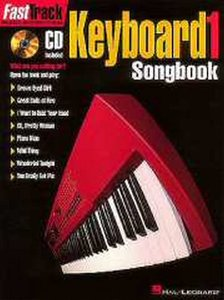 FastTrack Keyboard Songbook 1 Level 1 (Book/CD)
