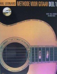 Hal Leonard Methode voor Gitaar Deel 1 (Boek/CD)