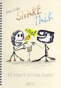 Denis Stilke: Snare Talk - 25 Snare Drum Duets (Book)