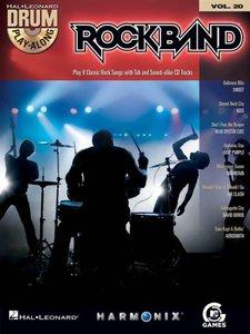 Drum Play-Along Volume 20: Rock Band (Book/CD)