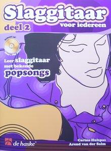 Slaggitaar Voor Iedereen 2, Leer slaggitaar met bekende popsongs (Boek/CD)