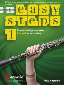 Easy Steps 1 - Klarinet (Boek/2 CD/DVD)