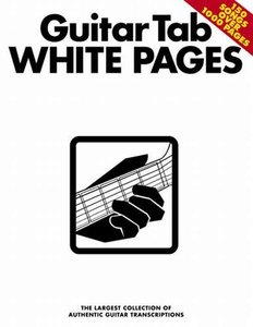 Guitar Tab White Pages (Book)