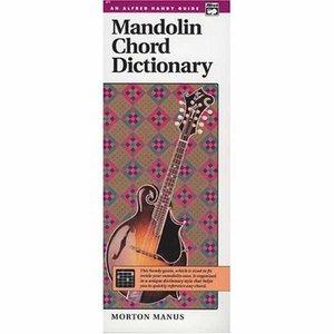 Mandolin Chord Dictionary (Book, 12x25cm)