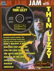 Jam With Thin Lizzy (Book/CD)