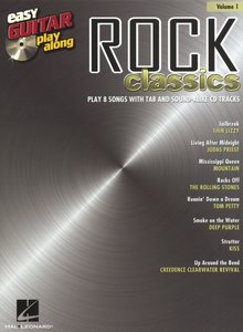 Easy Guitar Play-Along Volume 1: Rock Classics (Book/CD)