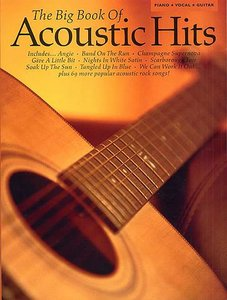 The Big Book Of Acoustic Hits - Piano/Vocal/Guitar (Book)