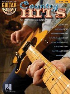 Guitar Play-Along Volume 76 - Country Hits (Book/CD)