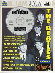Jam With The Beatles Vol. 1 (Book/CD)