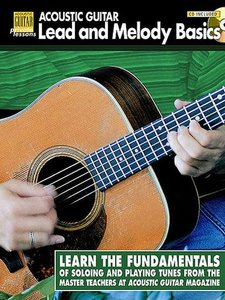 Acoustic Guitar Private Lessons: Lead and Melody Basics (Book/CD)