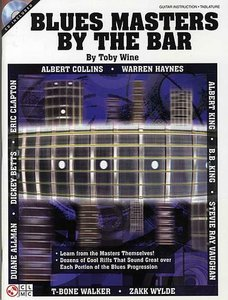 Toby Wine: Blues Masters By The Bar (Book/CD)