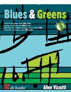 Blues & Greens - Altsaxofoon (Boek/CD)
