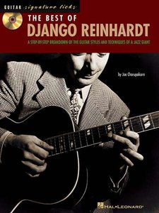 Guitar Signature Licks: The Best of Django Reinhardt (Book/CD)