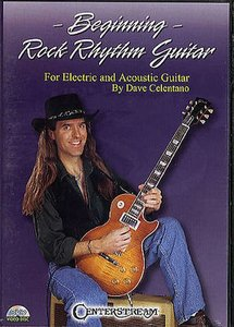 Dave Celentano: Beginning Rock Rhythm Guitar (DVD/Booklet)