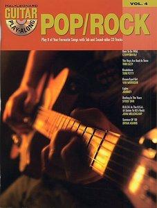 Guitar Play-Along Volume 4 - Pop/Rock (Book/CD)