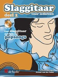 Slaggitaar Voor Iedereen 1, Leer slaggitaar met bekende popsongs (Boek/CD)