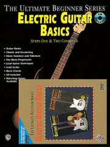 The Ultimate Beginner Series Mega Pack: Electric Guitar Basics Steps One&Two Combined (Book/CD/DVD)