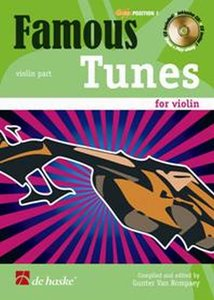 Famous Tunes for Violin (Boek/CD)