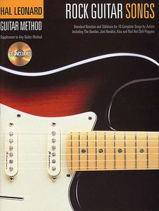 Hal Leonard Guitar Method: Rock Guitar Songs (Book/CD)