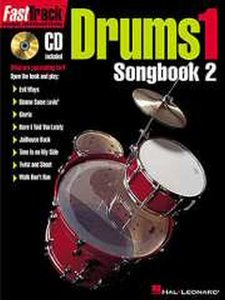 FastTrack Drums Songbook 1 Level 2 (Book/CD)