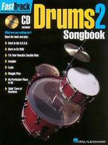 FastTrack Drums Songbook 2 Level 1 (Book/CD)