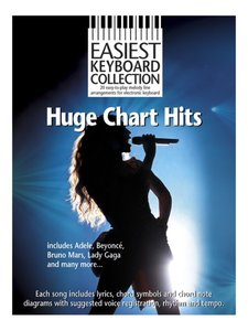 Easiest Keyboard Collection: Huge Chart Hits (Boek)