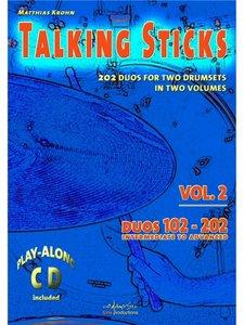 Talking Sticks - Volume 2 (Book/CD)