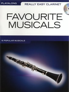 Really Easy Clarinet: Favourite Musicals (Book/CD)