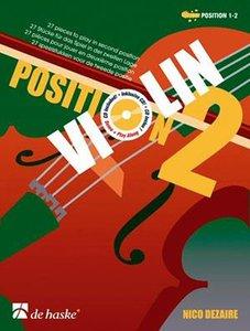 Violin Position 2 - Nico Dezaire (Boek/CD)