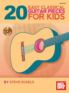 20 Easy Classical Guitar Pieces For Kids (Book/CD)
