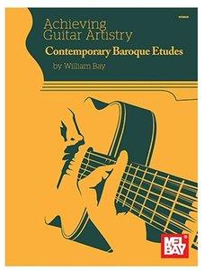 Contemporary Baroque Etudes - William Bay (Book)