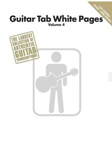 Guitar Tab White Pages Volume 4 (Book)