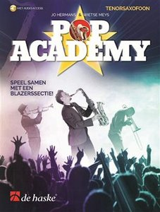 Pop Academy - Tenorsaxofoon (Boek/Online Audio)