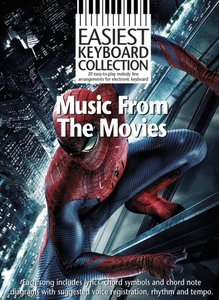 Easiest Keyboard Collection: Music From The Movies (Book)