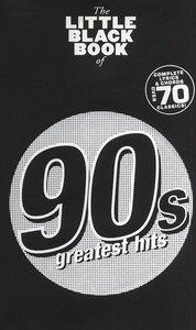 The Little Black Book of 90s Greatest Hits (Akkoorden Boek) (19x12cm)