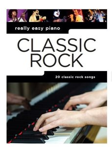 Really Easy Piano: Classic Rock (Book)