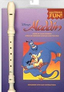 Aladdin - Blokfluit (Boek/Instrument)