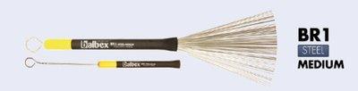 Brushes Balbex, metaal, kunststof handvat, uitschuifbaar (1 paar)