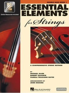 Essential Elements for Strings Book 1 (Contrabas) (Book/Online Audio)