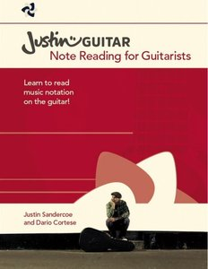 Justinguitar.com Note Reading For Guitarists (Book, 17x25cm)