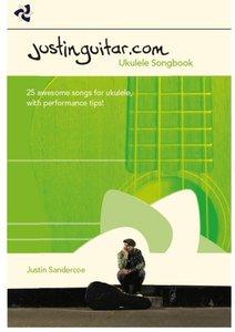 The Justinguitar.com Ukulele Songbook (Book, 17x25cm)