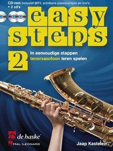 Easy Steps 2 - Tenorsaxofoon (Boek/2 CD/CD-Rom)