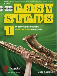 Easy Steps 1 - Tenorsaxofoon (Boek/2 CD/DVD)