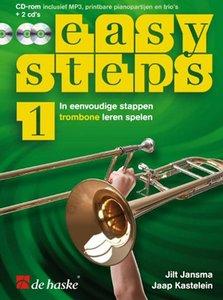 Easy Steps 1 - Trombone (Boek/2 CD/DVD)