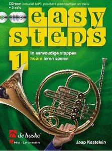Easy Steps 1 - Hoorn (F) (Boek/2 CD/DVD)