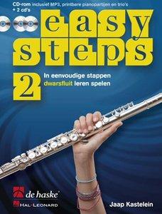 Easy Steps 2 - Dwarsfluit (Boek/2 CD/CD-Rom)